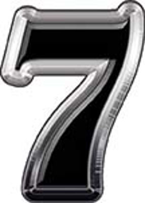 Reflective Number 7 from www.westonink.com