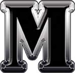 Reflective Letter M from www.westonink.com