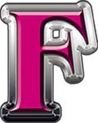 Reflective Letter F from www.westonink.com