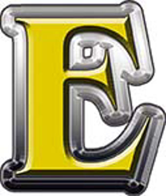 Reflective Letter E from www.westonink.com