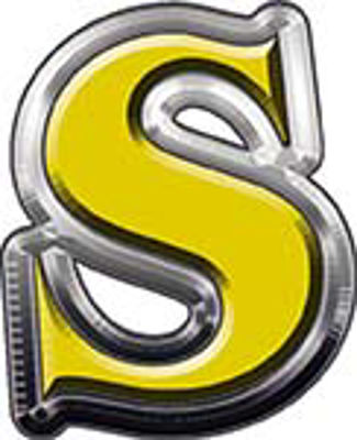 Reflective Letter S from www.westonink.com