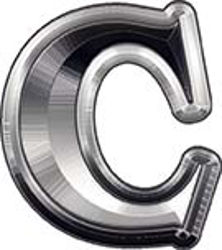 Reflective Letter C from www.westonink.com