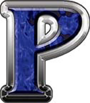 Reflective Letter P from www.westonink.com