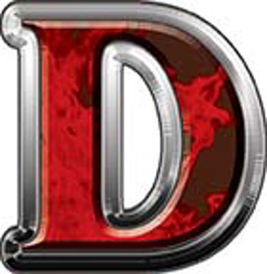 Reflective Letter D from www.westonink.com