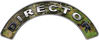 Director Fire Fighter, EMS, Rescue Helmet Arc / Rockers Decal Reflective in Camo