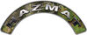 Hazmat Fire Fighter, EMS, Rescue Helmet Arc / Rockers Decal Reflective in Camo