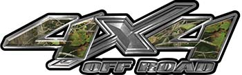 4x4 Offroad Truck, SUV, ATV, Side By Side, Golf Cart Fender Emblem or Bedside Decals in Camo