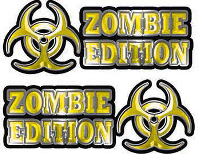 Zombie Edition Decals in Yellow