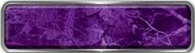Fire Fighter, EMS, Rescue Reflective Helmet Marker Decal in Purple Camouflage