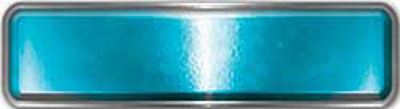 Fire Fighter, EMS, Rescue Reflective Helmet Marker Decal in Teal