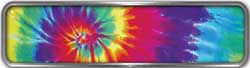 Fire Fighter, EMS, Rescue Reflective Helmet Marker Decal in Tie Dye Colors