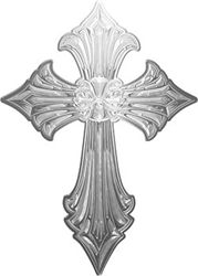 Old Style Cross in Silver