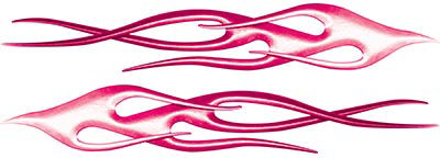Twisted Flame Decal Kit in Pink