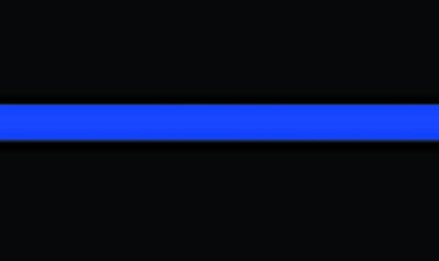 Thin Blue Line Police Sheriff Law Enforcement Decal