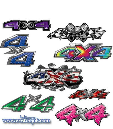 Picture for category 4x4 Decals