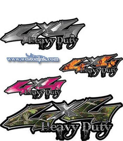Picture for category 4x4 Heavy Duty Decals