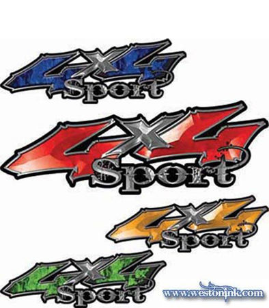 Picture for category 4x4 Sport Decals