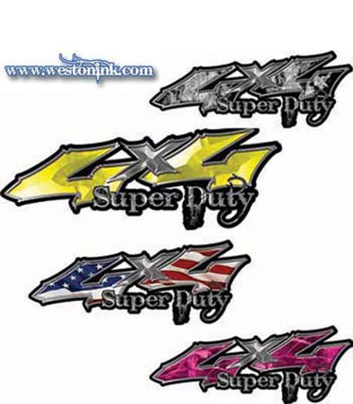Picture for category 4x4 Super Duty Decals