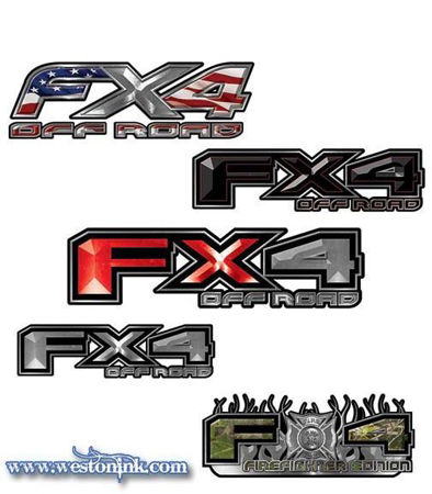 Picture for category Ford FX4 Decals