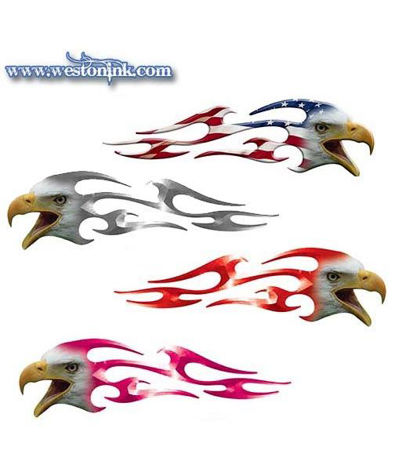 Picture for category Eagle Flame Decals