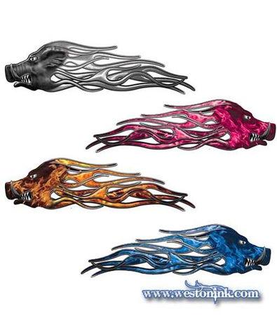 Picture for category Wild Hog Flame Decals