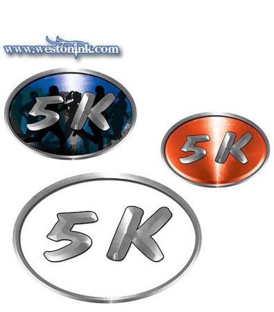 Picture for category 5K Run Decals