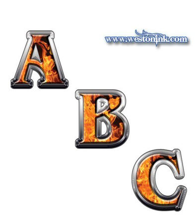 Picture for category Reflective Inferno Flame Decals