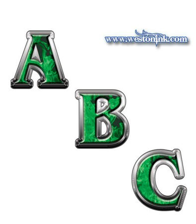 Picture for category Reflective Inferno Green Decals