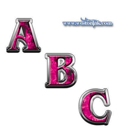 Picture for category Reflective Inferno Pink Decals