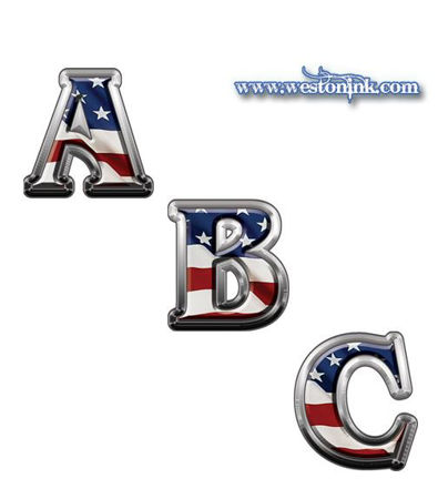 Picture for category Reflective American Flag Decals