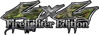 Twisted Series 4x4 Truck, SUV, ATV, SbS, Fire Fighter Edition Decals in Camouflage