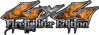 Twisted Series 4x4 Truck, SUV, ATV, SbS, Fire Fighter Edition Decals Inferno Orange Realistic Flames