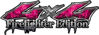 Twisted Series 4x4 Truck, SUV, ATV, SbS, Fire Fighter Edition Decals Inferno Pink Realistic Flames