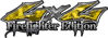 Twisted Series 4x4 Truck, SUV, ATV, SbS, 4x4 FireFighter Edition Decals in Camo Yellow