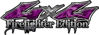 Twisted Series 4x4 Truck, SUV, ATV, SbS, 4x4 FireFighter Edition Decals in Camo Purple