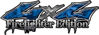 Twisted Series 4x4 Truck, SUV, ATV, SbS, 4x4 FireFighter Edition Decals in Camo Blue