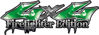 Twisted Series 4x4 Truck, SUV, ATV, SbS, Fire Fighter Edition Decals in Green
