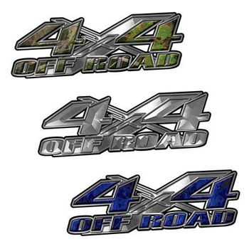 4x4 off road decals from Weston Ink style 003