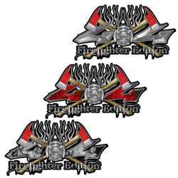 4x4 firefighter decals twin axe edition