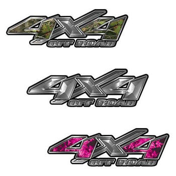 4x4 off road decals for chevy, ford, dodge or toyota