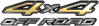 4x4 Off Road Nissan Style Truck, SUV, ATV, Side By Side Fender Emblem or Bedside Decals in Gold