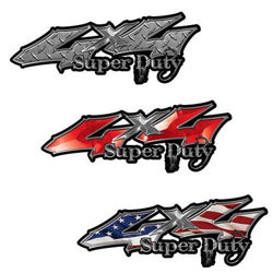 Ford Super Duty Decals