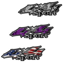 4x4 sport decals - twisted series
