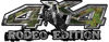 Rodeo Edition Bucking Bronco 4x4 ATV Truck or SUV Decals in Camouflage