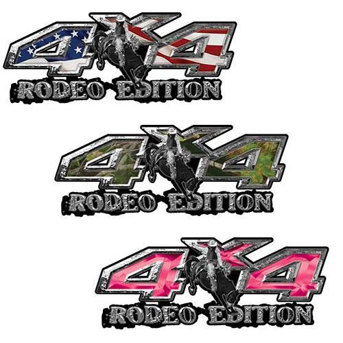 Rodeo Edition 4x4 Decals for Trucks and SUVs