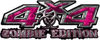 Zombie Edition 4x4 Decals in Pink Camouflage