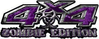 Zombie Edition 4x4 Decals in Purple Camouflage