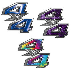 Custom 4x4 Decals for Ford, Chevy or Dodge