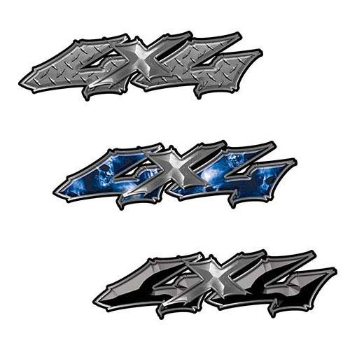 Twisted Seried 4x4 Truck Decals