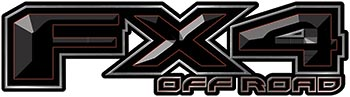 <p>2015 Ford 4x4 Truck FX4 Off Road Style Decal Kit in Black</p>